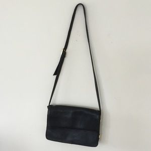 Tignanello black crossbody -shoulder bag Black
